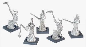 Mantic Undead Wraiths Built