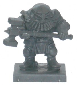 Mantic Games Dwarf Ironclad 3 part model
