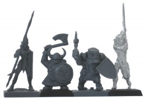 Mantic Games Dwarf Ironclad Comparison