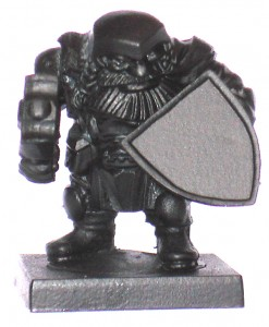 Mantic Dwarf Undercoated