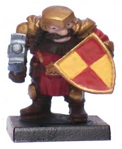 Mantic Dwarf Basecoated