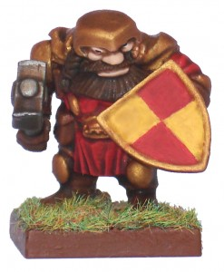 Mantic Dwarf Based and Matt Varnished