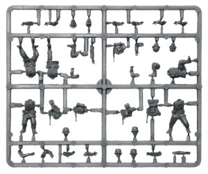 Bolt Action Germans Troop Sprue