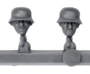 Bolt Action Germans Troops Sprue - Heads