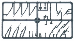 Bolt Action Germans Weapons Sprue