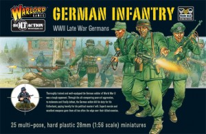 Warlord Games Plastic German Infantry Box