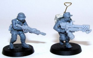 Bolt Action German Lasgun & Flamer Imperial Guard