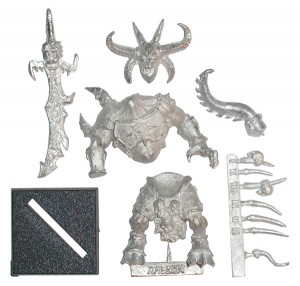 Avatars of War Daemon Champion blister contents