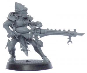 Dark Eldar Kabalite Warrior with Splinter Cannon