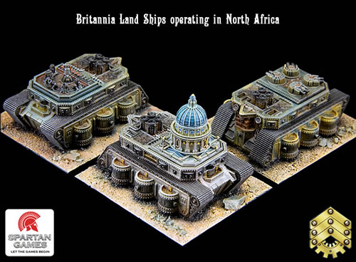 Dystopian Wars Big Orbit Games