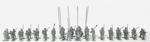 Parliament Infantry Unit Built