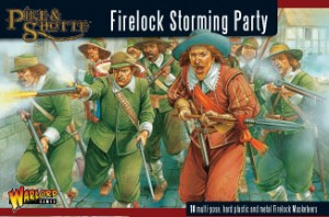 Pike and Shotte Firelock Storming Party