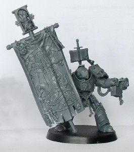 Grey Knight Terminator Standard Bearer