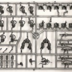 Grey Knight Terminators Sprue 1