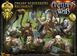 Avatars of War Dwarf Berserkers box