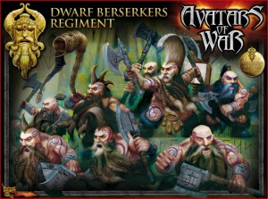 Avatars of War Dwarf Berserkers Box - Front
