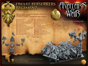 Avatars of War Dwarf Berserkers Box - Box