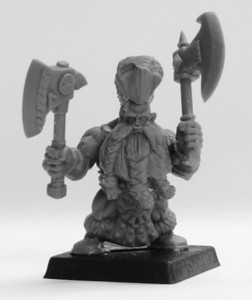 Avatars of War Dwarf Berserker Champion
