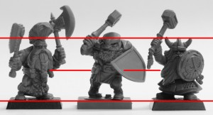 Avatars of War, Warhammer & Mantic Dwarf Comparison