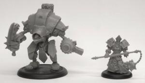 Warmachine Khador Warjack & Menoth Warcaster