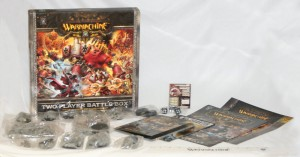 Warmachine Two Player Battle Box Contents