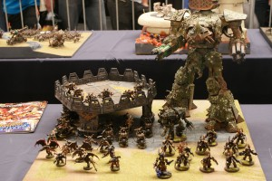 Armies on Parade: Nurgle Army with Reaver Titan