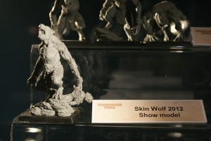 Forge World Show Model 2012 - Skin Wolf
