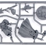 Warhammer 40,000: Dark Vengeance Interrogator Chaplain sprue (only contained in limited edition)