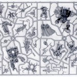 Warhammer 40,000: Dark Vengeance Sprue 3 (the box contains 1 of these)