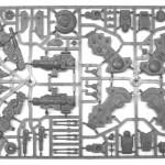 Tau Empire XV104 Riptide Battlesuit Sprue 2